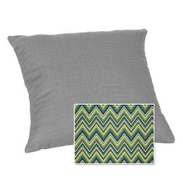 Casual Cushion Corp. 15x15 Throw Pillow - Fischer Lagoon