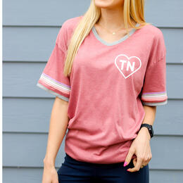 Jadelynn Brooke Women's Heart State Tennessee T-Shirt
