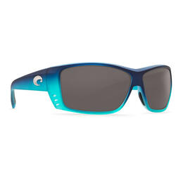 Costa Del Mar Men's Cat Cay Polarized Sunglasses with Grey Lens