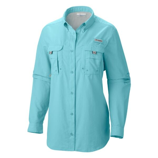 Columbia Women's Bahama Plus Size Long Sleeve Shirt