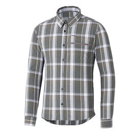 Shimano Men's Transit Check Button Up Shirt