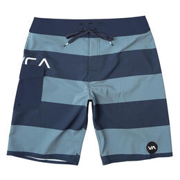 Rvca Boy's Uncivil Stripe Trunks