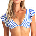 Billabong Women's Blue By U Plunge Bikini T