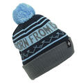 Ski The East Men's Born From Ice Pom Beanie Blue