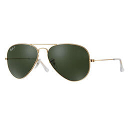 Ray-Ban Aviator Classic Sunglasses With Polarized Lenses