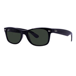Ray-Ban New Wayfarer Sunglasses With Green Polarized Lenses