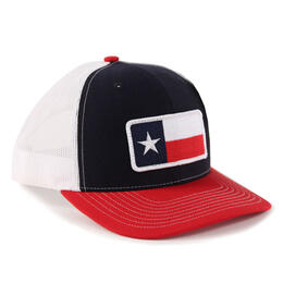 Richardson Twill Mesh TEXAS Snapback Trucker Hat