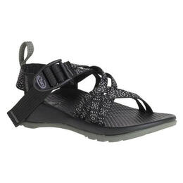 Chaco Kids Zx/1 Ecotread Casual Sandals Black Pattern