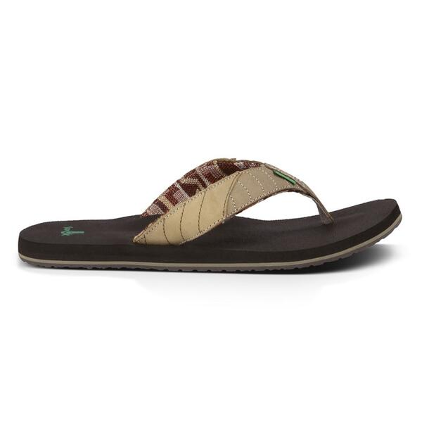 Sanuk Men's Pave The Wave Sandals
