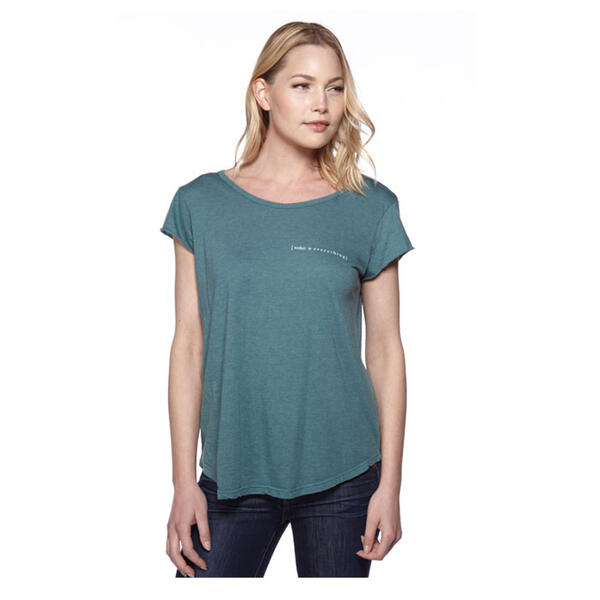 good hYOUman Women's Helen Short Sleeve Tee