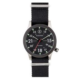 Electric Nato Watch Black