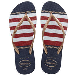 Havaianas Women's Slim Nautical Flip Flops