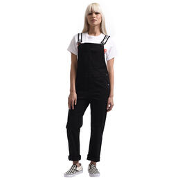 Dickies Girl Junior Girl's Logo Strap Bib Overalls