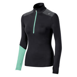 Asics Women's Thermopolis 1/2 Zip Running Workout Top