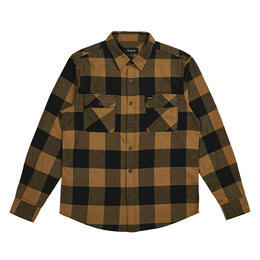 Brixton Men's Bowery Lightweight Long Sleeve Flannel Shirt