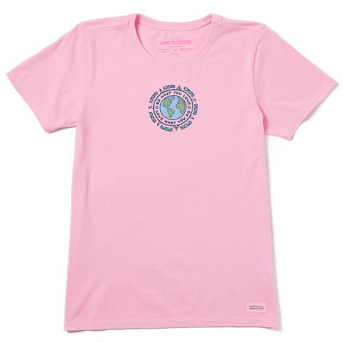 Life Is Good Women's DWYL Earth Vintage Cru
