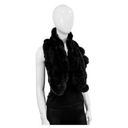 Mitchies Matchings Women's Rabbit Ruffle Scarf