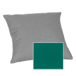 Casual Cushion Corp. 15x15 Throw Pillow - Canvas Teal