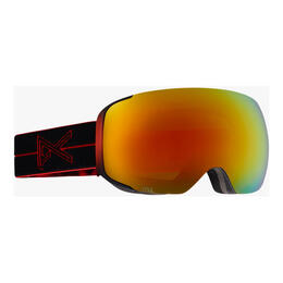 Anon M2 Snow Goggles With Red Solex Lens