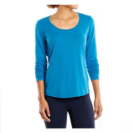Lucy Women's Workout Long Sleeve Tee Shirt