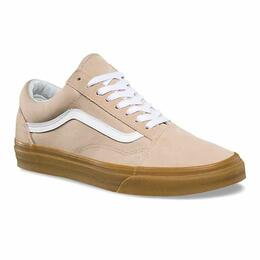 Vans Men's Gum Old Skool Shoes - Sesame