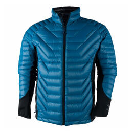 Obermeyer Men's Kinetic Down Hybrid Insulated Ski Jacket