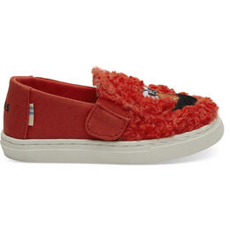 Toms Kid's Luca T Casual Shoes Red Elmo