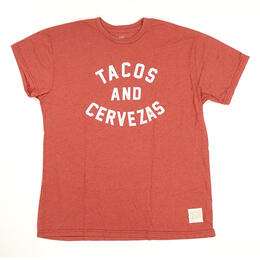 Original Retro Brand Women's Tacos & Cervezas Short Sleeve T Shirt