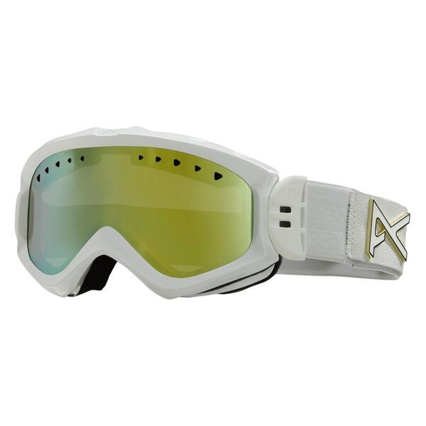 Anon Women's Majestic Goggles with Gold Chrome Lens