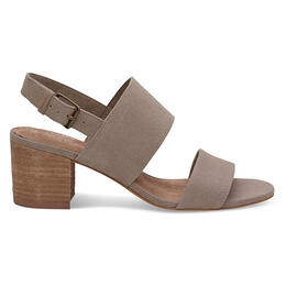 Toms Women's Poppy Sandals Desert Taupe