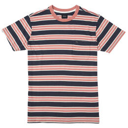 RVCA Men's Lucas Stripe T Shirt