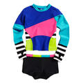 Limeapple Girl's Surf Rashguard Set