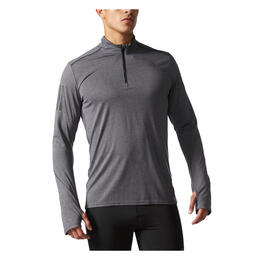 Adidas Men's Reponse Half-Zip Long Sleeve Shirt