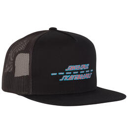 Santa Cruz Men's Street Strip Trucker Hat