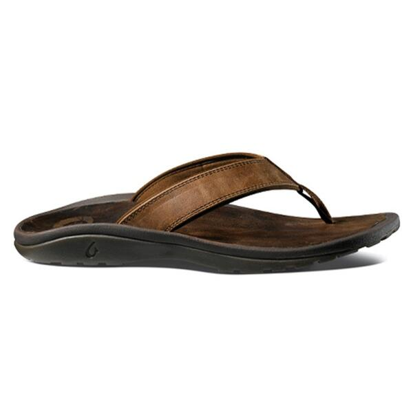 Olukai Men's 'Ohana Leather Sandals