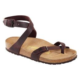 Birkenstock Women's Yara Oiled Leather Casual Sandals