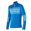 Newland Men's Chourchevel Long Sleeve 1/2 Zip Bluette