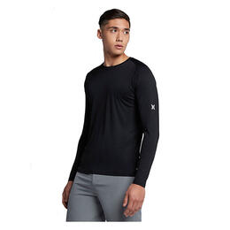 Hurley Men's Icon Quick Dry Long Sleeve T-shirt