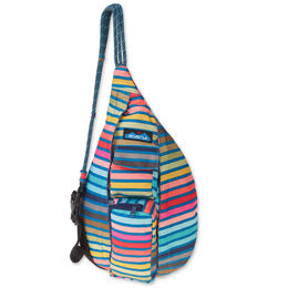 KAVU Women's Mini Rope Sling Chroma Stripe Backpack