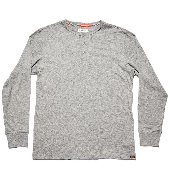 The Normal Brand Men's Slub Long Sleeve Hen