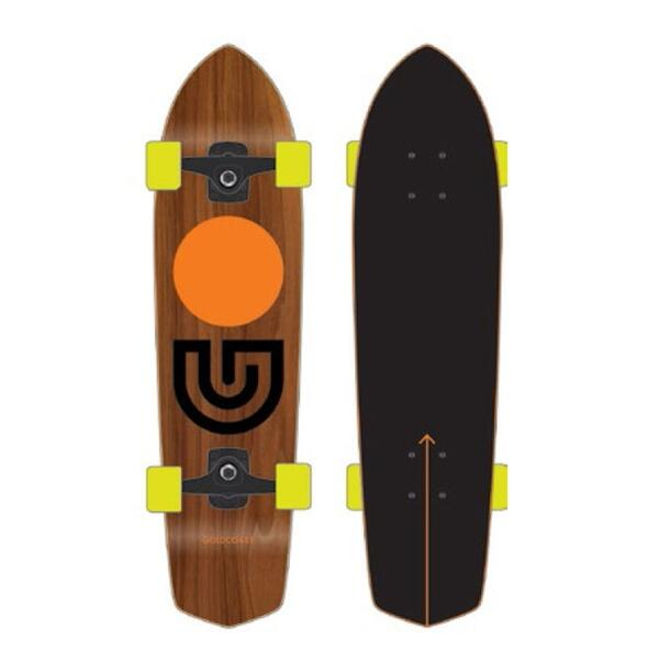 Goldcoast The Slap Stick Complete Longboard