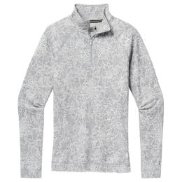 Smartwool Women's Merino 250 Baselayer Pattern Quarter Zip Shirt
