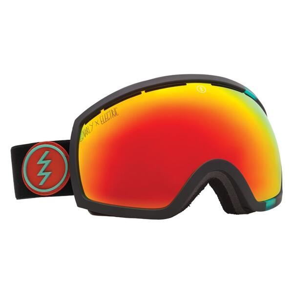 Electric EG2 Snow Goggles with Bronze/Red Chrome Lens