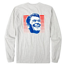 Rowdy Gentleman Men's Big Ron Long Sleeve Pocket T-Shirt