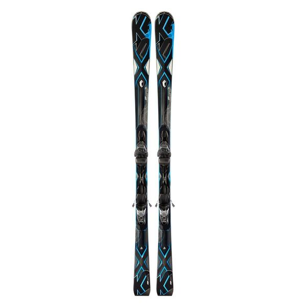 K2 Men's AMP Velocity All Mountain Skis With M3 11.0 Bindings '13