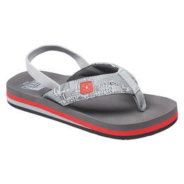 Reef Boy's Ahi Light Up Prints Sandals