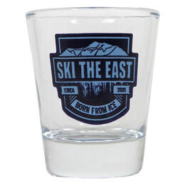 Ski The East Born From Ice Shot Glass