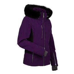 Nils Women's Hanna Real Fur Petite Ski Jacket
