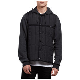 Volcom Men's Stripester Puffer Jacket