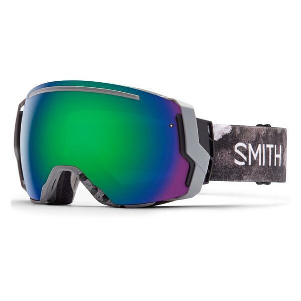 Smith I/O 7 Snow Goggles With Green Sol X/Red Sensor Lenses